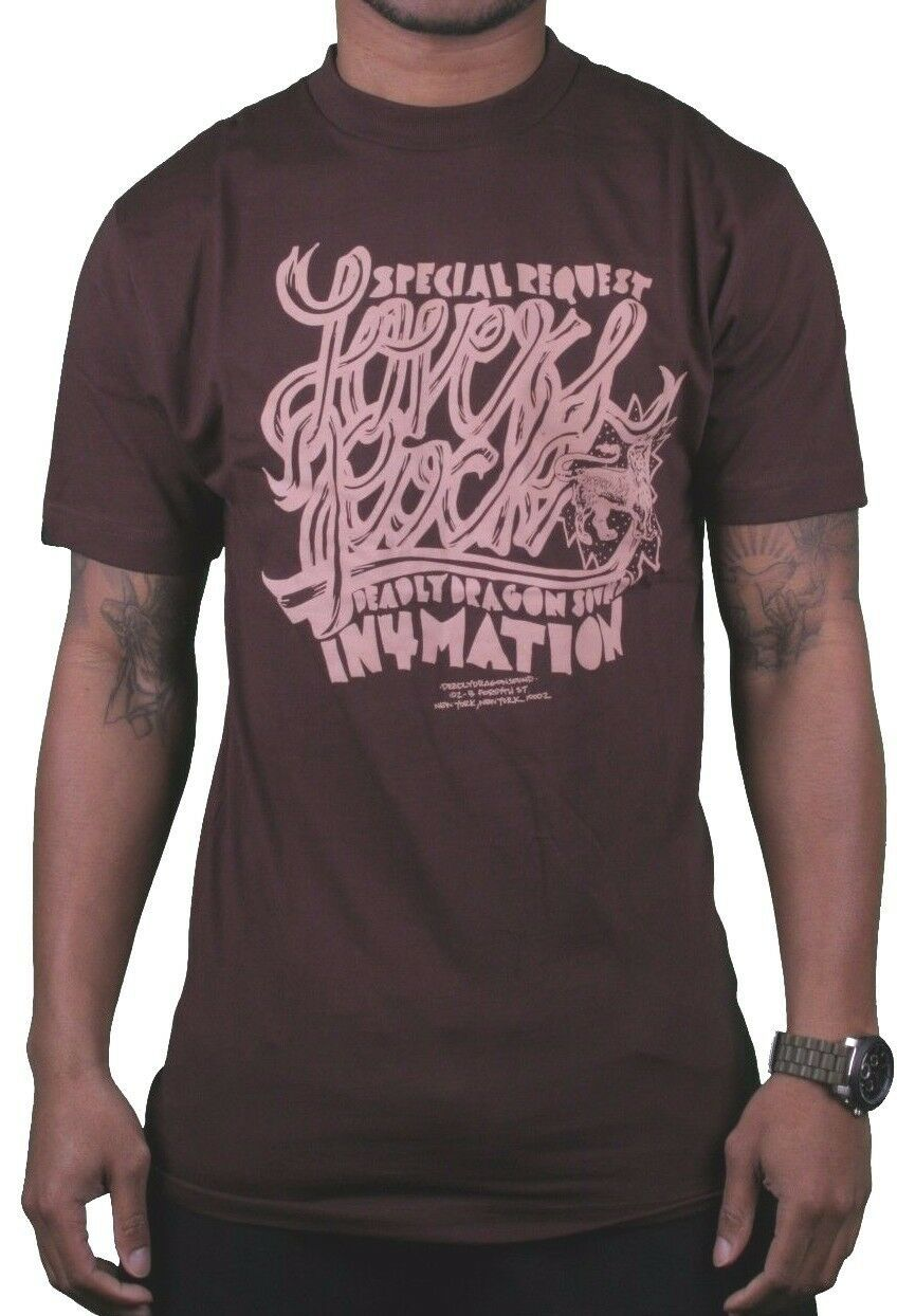 In4mation Hawaii Special Request Amanti Rock Scuro Deadly Drago Suono Ny T-Shirt