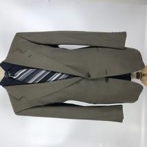 Giorgio Armani Men's Size 42L Beige Wool Blazer Sport Coat Jacket - $50.00