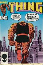 Marvel THE THING (1983 Series) #23 FN+ - $0.69