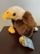 NEW Webkinz Eagle HM214 with attached UNUSED code NWT Retired - $23.36