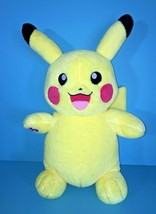 "Build A Bear Workshop Pokemon Pikachu 18"" Plush Stuffed Animal BAB Nintendo - $20.95"