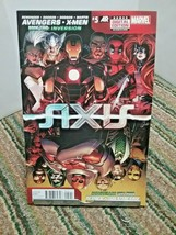 Avengers X-Men Axis Comic Book Issue 5 January 2015 Marvel - $4.00