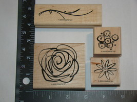 Lot Of (4) 2005 Stampin' Up! Stamps - $12.00