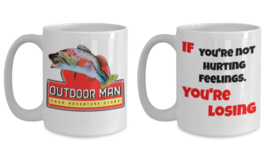 Outdoor Man / Hurting Feelings Breakroom Inspired NEW 15 oz.Coffee Mug G... - $39.99