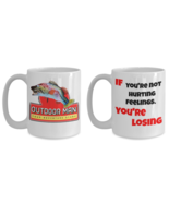 Outdoor Man / Hurting Feelings Breakroom Inspired NEW 15 oz.Coffee Mug G... - $39.99