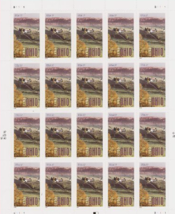 Ohio Statehood Bicentennial Sheet of Twenty 37 Cent Stamps Scott 3773 by... - $9.58