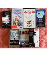 Steven Spielberg VHS Lot of 7 Titles - $22.76
