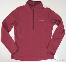 Columbia Womens Ridge Repeat 1/2 Zip Fleece Mid-Layer Fleece Jacket sz M... - $26.21
