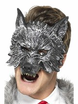Smiffys Deluxe Big Bad Wolf Riding Hood Mask Halloween Costume Accessory 20348 - $14.95