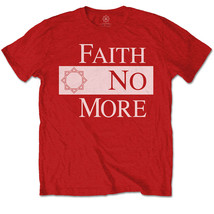 Red Faith No More Logo Official Tee T-Shirt Mens Unisex - $24.99
