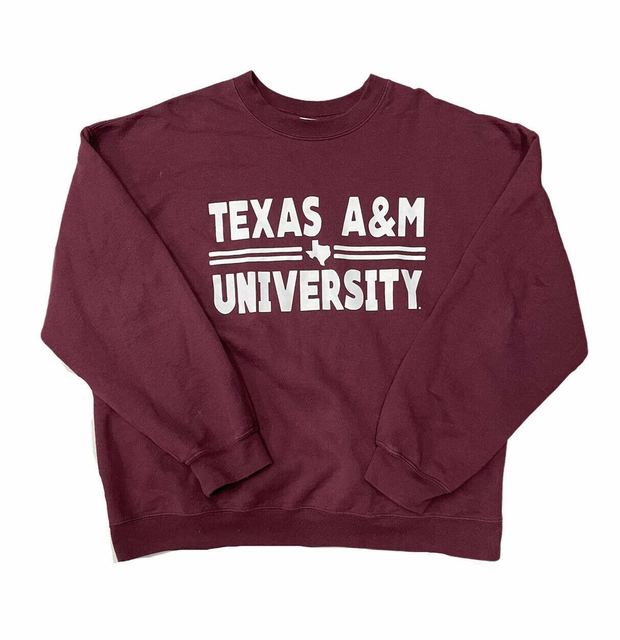 Vintage 90s Texas A&M Aggies Sweatshirt Size XL - $34.65