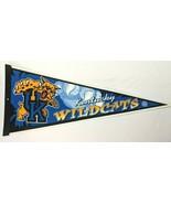 "Kentucky Wildcats NCAA College Felt 30"" Pennant Vintage Sports Memorabilia - $33.87"