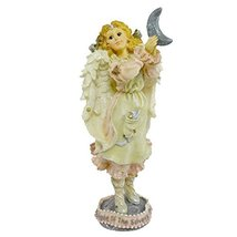 Boyds Bears Resin Luna The Light Of The Silvery Moon Angel Folkstone - Resin 7.2 - $18.62