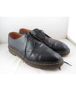 Vintage Dr Martens Shoes - Classic Black 3 Hole Shoes - Men's Size 12 - $95.00