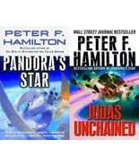 Peter F Hamilton COMMONWEALTH SAGA Sci Fi Series Paperback Collection Bo... - $16.99