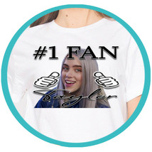 Billie Eilish Merchandise T Shirt Shirts T-shirt Tshirt Concert Tee Merc... - $21.25 CAD