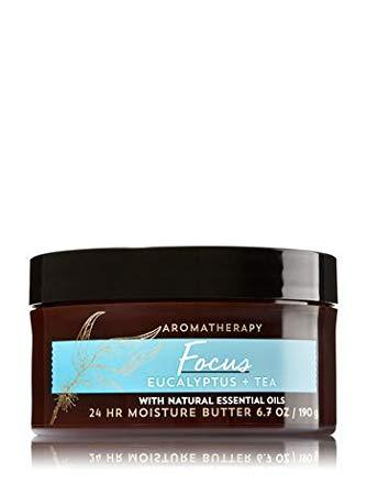 Primary image for Bath & Body Works Aromatherapy Focus Eucalyptus Tea 24 Moisture Butter