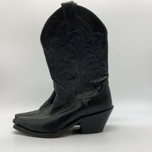 Justin, Black Leather, Women's Boots, Size 5B - $27.72