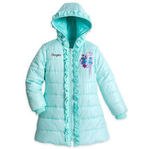 New Disney Store Elsa Puffer Jacket For Girls - Sz 3T - $39.99