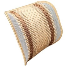Respirant Car Decoration Lumbar Support Fashion Back Cushion Beige
