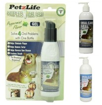 PETZLIFE ORAL CARE CATS & DOGS DENTAL HYGIENE SPRAY OR GEL BREATH TARTAR... - $48.99