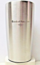 "Stainless Steel Coffee Thermos Cup - Bank of America Logo - 7"" tall (158) - $8.21"
