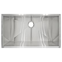 """32"""" x 10"""" Deep Kitchen sink Stainless Steel Undermount Modern LP2 by LessCare - $216.81"""