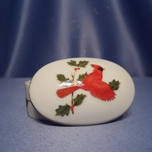 Oval Shaped Trinket Box by Lefton. - $7.00