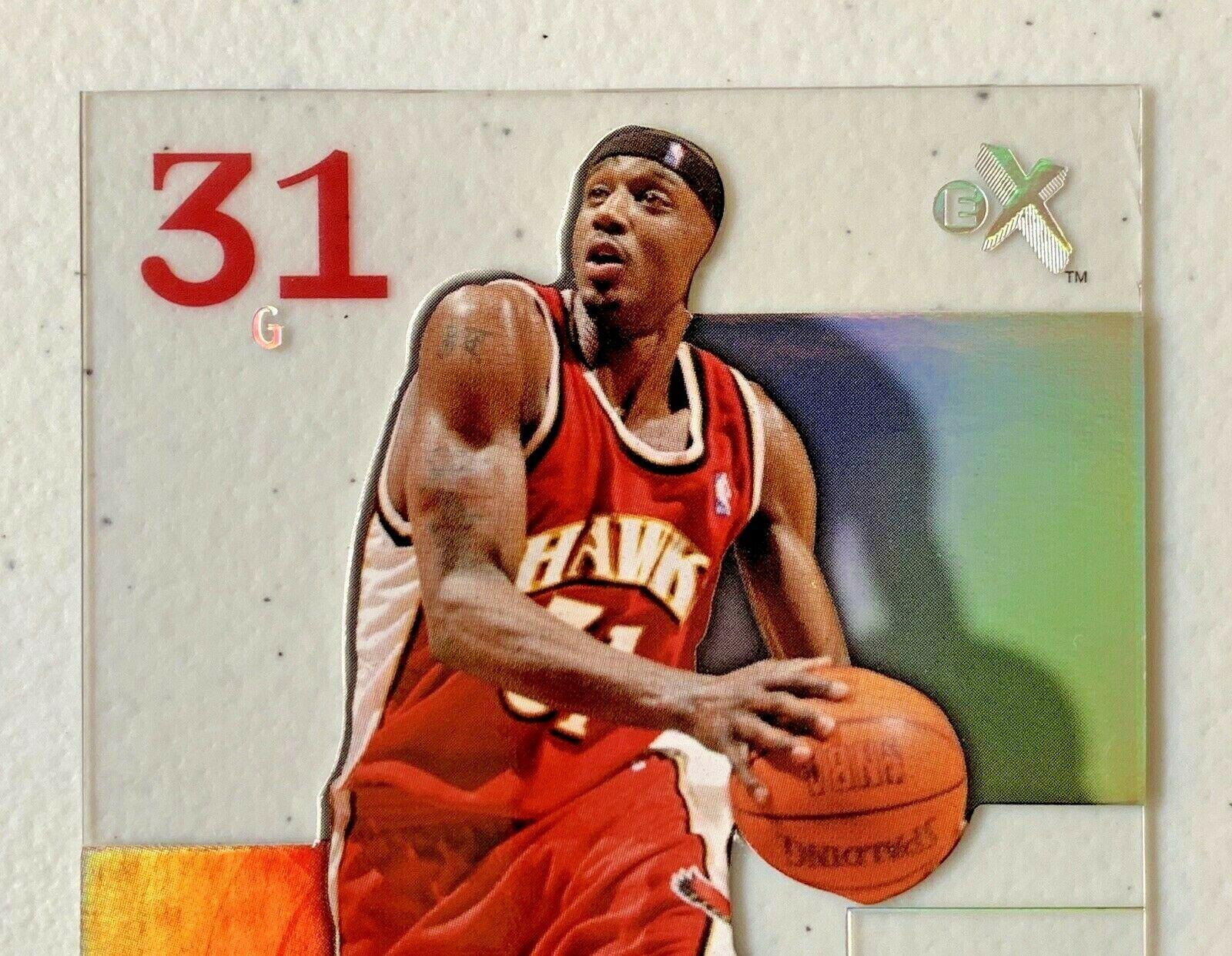Jason Terry Now/66 #65 Atlanta Hawks Fleer Basketball Card with Hard Case 31G image 3