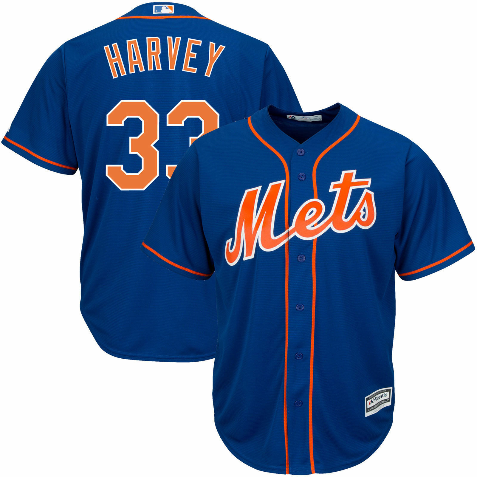 Matt Harvey New York Mets Majestic Men's Royal Alternate Cool Base Player Jersey