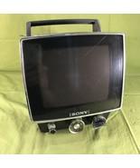 "Vintage Sony TV-740 B&W 7"" Portable Television - $59.39"
