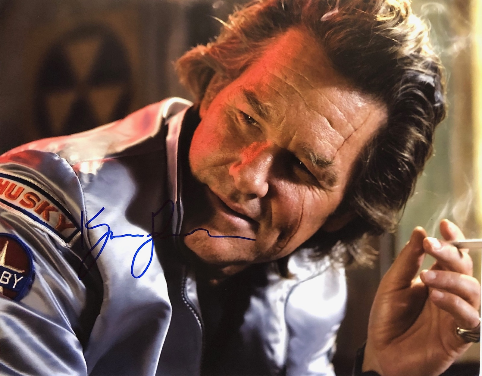 Primary image for KURT RUSSELL AUTOGRAPHED Hand Signed 11x14 DEATH PROOF PHOTO w/COA Stuntman Mike