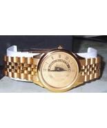 Goldtone University of Massachusetts Swiss Made Wrist Watch - $37.39