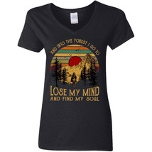 Into The Forest I Go To Lose My Mind G500VL Gildan Ladies' 5.3 oz. V-Neck Tee - $21.29
