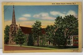 Christ Church Raleigh N.C. Postcard F6 - $5.95