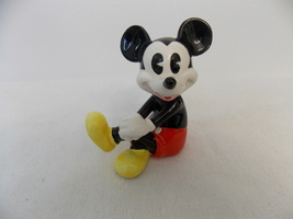 Disney Ceramic Sitting Mickey Mouse Figurine  - $25.00