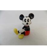 Disney Ceramic Sitting Mickey Mouse Figurine  - $25.00