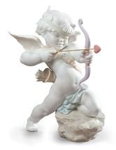 Lladro Straight to The Heart Cupid Angel Figurine 01009209 - $617.00
