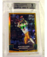 2004 Topps Draft Picks & Prospects Chrome Gold #160 Mike Williams Becket... - $12.59
