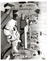 Signed (by Donald Slayton) Photograph of Apollo 14 Astronauts in Testing - $120.00