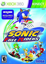 Sonic Free Riders (Microsoft Xbox 360, 2010) - $4.82