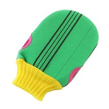 Soft Exfoliating Mitts Shower Bath Body Scrubber Loofah Mitt Gloves, A - $11.68