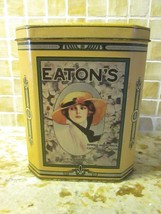 Vintage Coffee Tin Can Eaton's Canada Store 1970's from Recollections Co... - $9.46