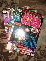 Star Wars 1977 #3,5,6 2nd prints direct edition 35¢ Marvel, vf - $30.00