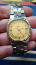 Men's Omega Quartz Clean Swiss Made De ville Date Original Watch  - $346.50