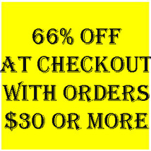 66% Off All Orders Of $30 Or More Automatically At Checkout Magick Cassia4 - $0.00