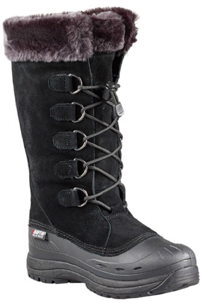 New Ladies Black Size 7 Baffin Judy Snowmobile Winter Snow Boots -40F/C
