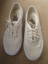 Vans AUTHENTIC Beige Tan Skater Shoes Women's 5 - $25.95