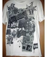 Zoo York NYC Photo Graffiti T-Shirt Black n White Men's Size Small Unbre... - $6.79