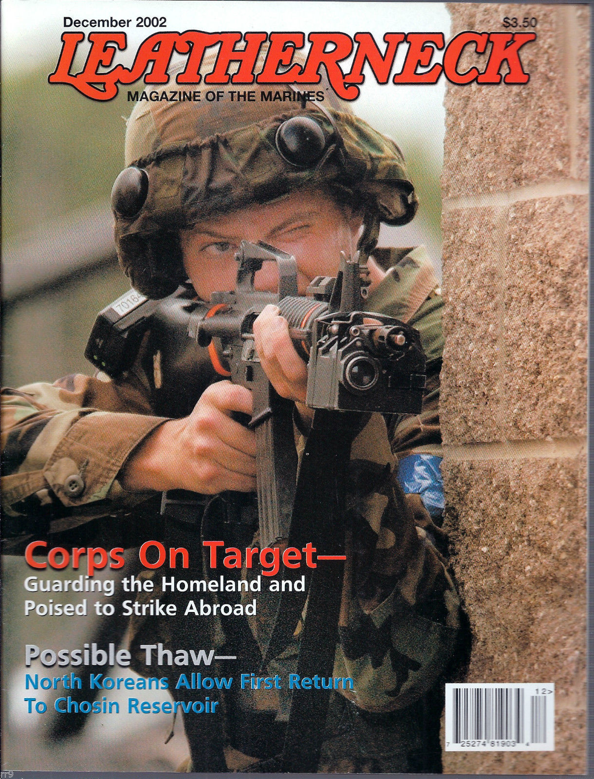 Primary image for Leatherneck Magazine of the Marines December 2002 Corps on Target